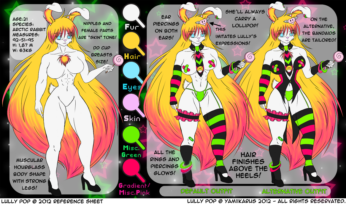 :: Lully Pop Reference Sheet :: by Yamiikarus