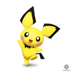 Pichu Smashified (Transparent)