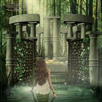 The Healing Place by Josiane-Rey