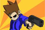 Tom Plus Gun Equals RUN