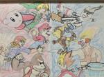 Super Smash Bros VS Playstation All Stars