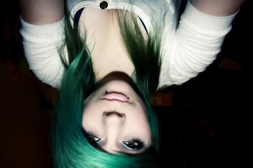 Green Hair by MostBeautifulGirls