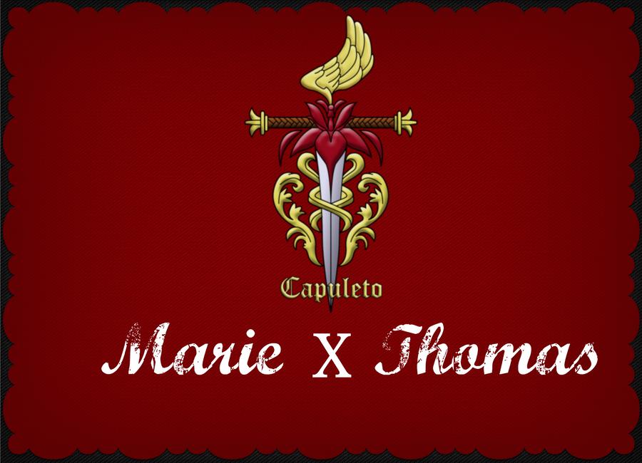 Marie y Thomas portada 2 :D by lindix500