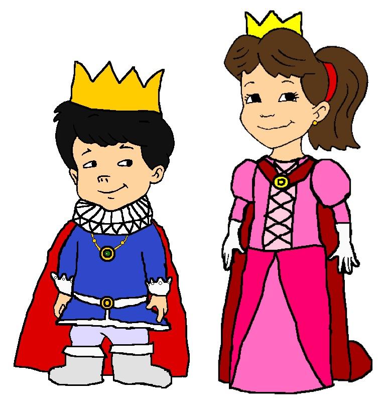 Prince Max And Princess Emmy By KingLeonLionheart On