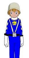 TK Takaishi - Blue RPM Ranger