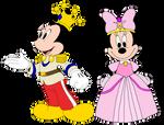 Prince Mickey and Princess Minnie - Minnie-rella