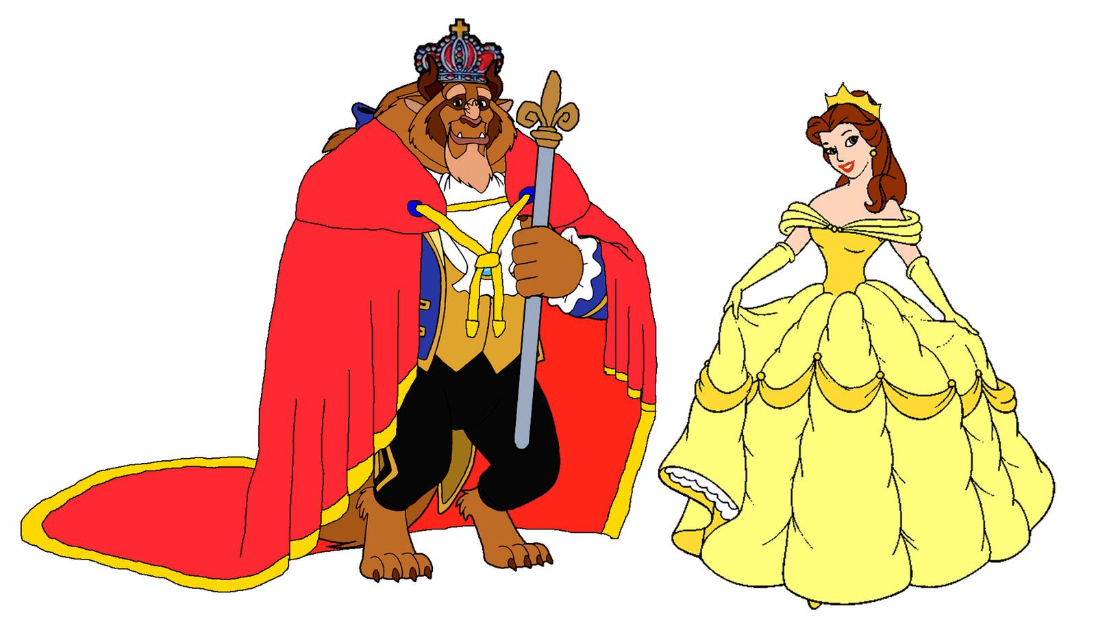 Prince Beast And Princess   Disney World Belle 2014