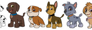 Paw Patrol - Without Outfits
