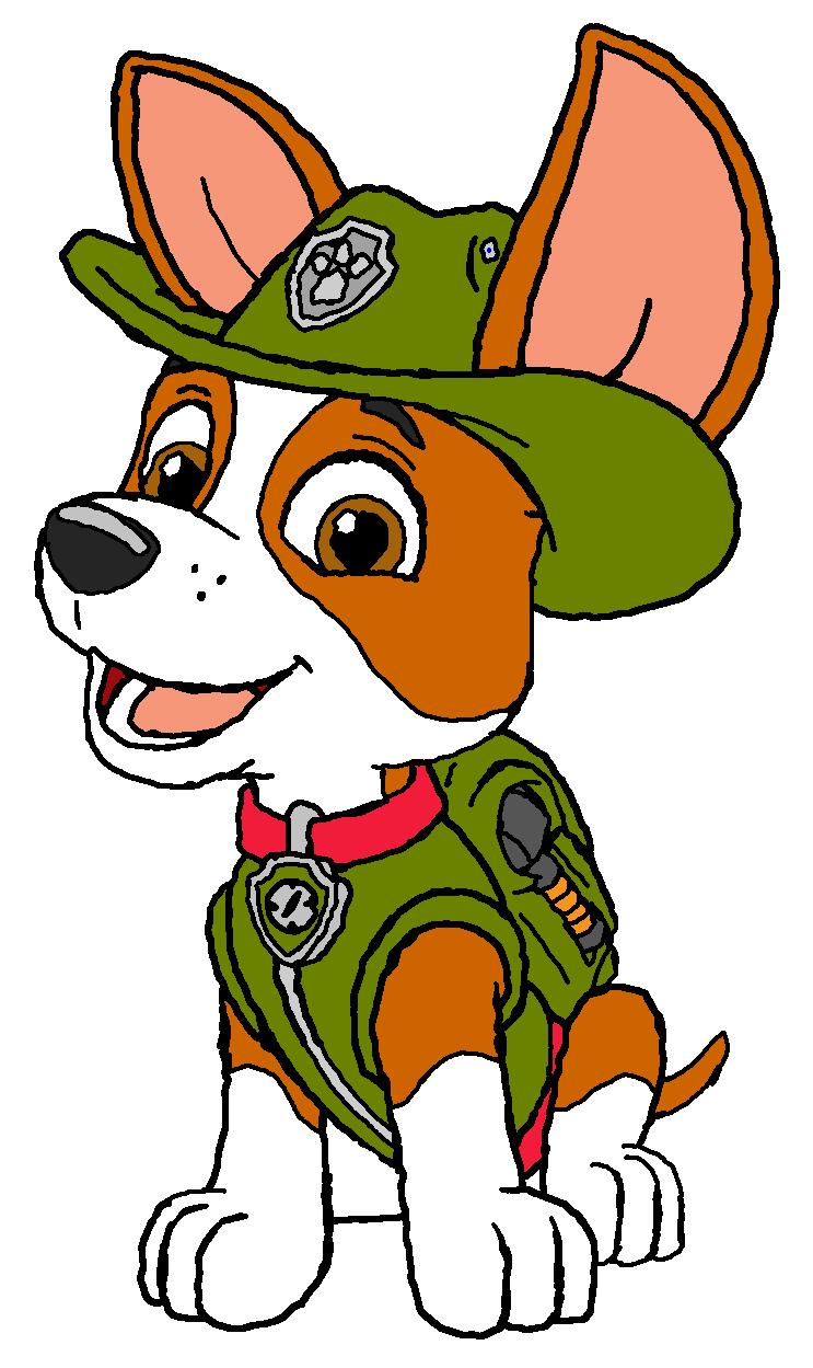 tracker  paw patrolkingleonlionheart on deviantart