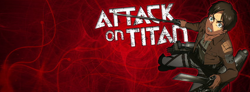 Attack On Titan - Red - Facebook Cover by Arlen-McTaranis