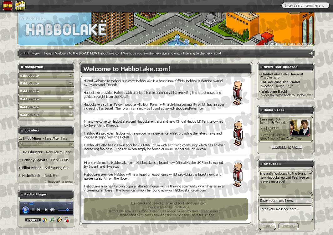 HabboLake - Habbo Design by simon-x