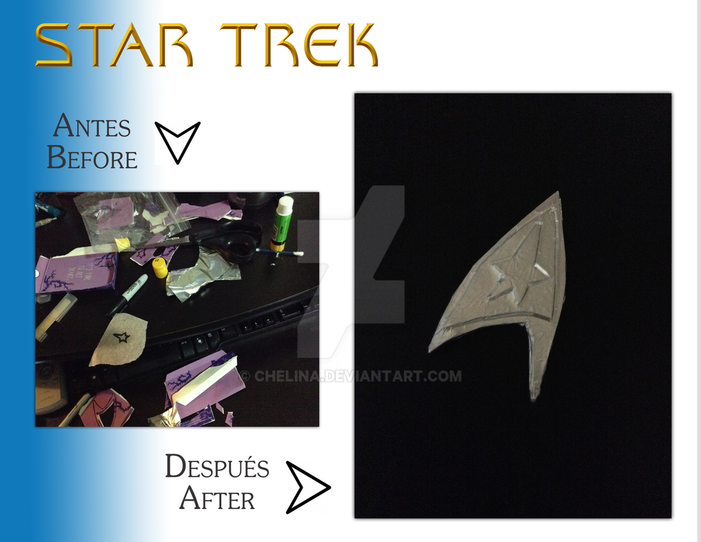 DIY Star Trek Insignia by chelina
