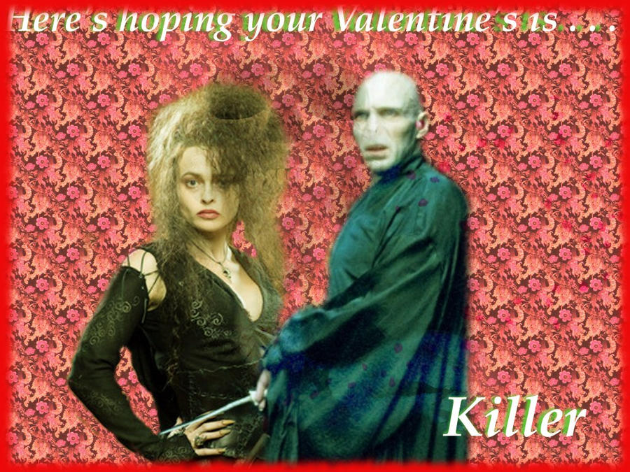 Voldie and Bella: V-Day Card by PatriciaTepes
