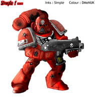 Warhammer 40k Space Marine Fin by dmonuk