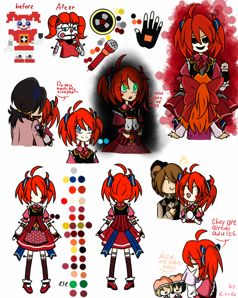 Sister Location Circus Baby Remake By Kizy-Ko On Deviantart-2504