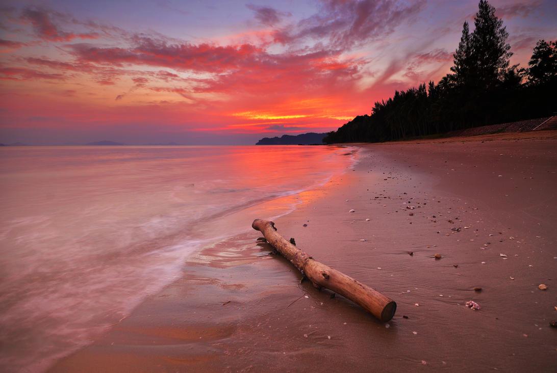Chumphon Sunset by comsic