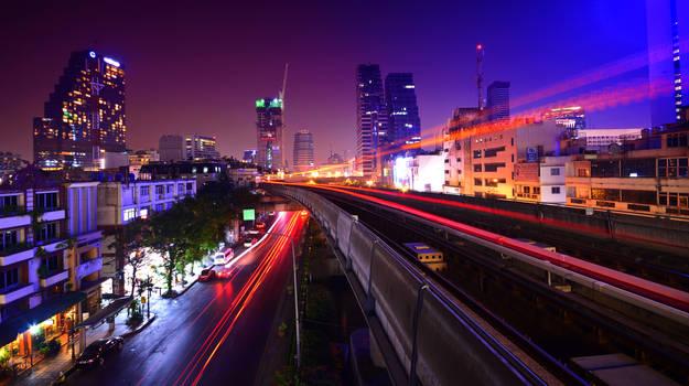 Bangkok Lights II by comsic