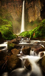 Sipiso Piso waterfall colour by comsic