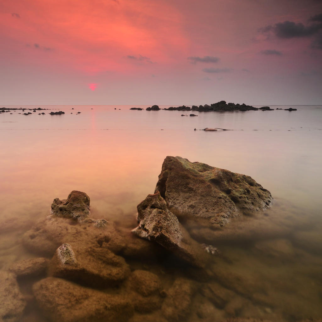 Koh Chang Sunset - Square by comsic