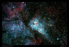 Eta Carina Nebula by CapturingTheNight