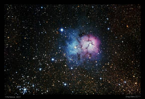 Trifid Nebula M20 by CapturingTheNight