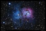 Trifid Nebula M20 Revisit