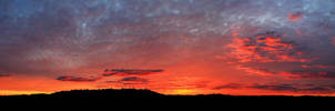 Morning Clouds Pano by CapturingTheNight