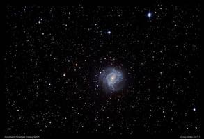 Southern Pinwheel Galaxy M83 by CapturingTheNight
