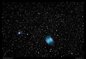 Dumbbell Nebula M27 by CapturingTheNight