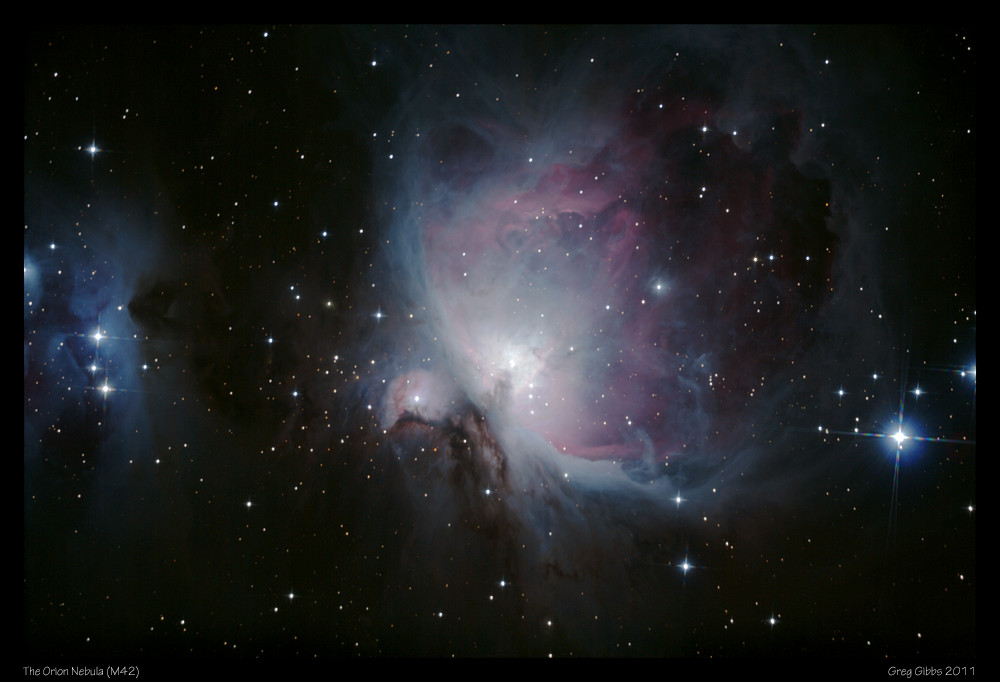 The Orion Nebula M42 by CapturingTheNight