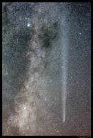 Comet Lovejoy Closeup by CapturingTheNight