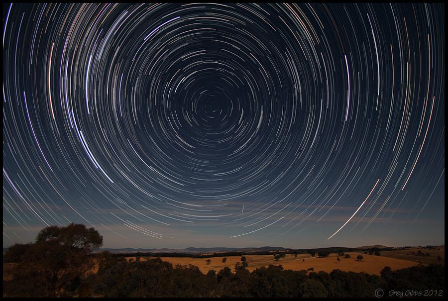 Moonlight Trails by CapturingTheNight