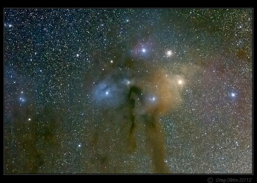 Rho Ophiuchus by CapturingTheNight