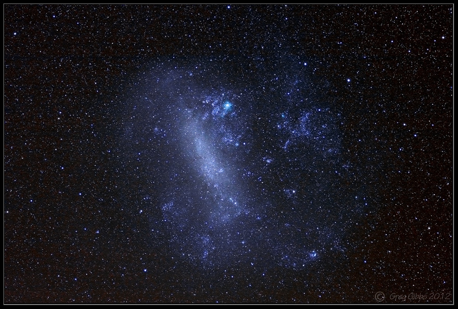 The Large Magellanic Cloud by CapturingTheNight