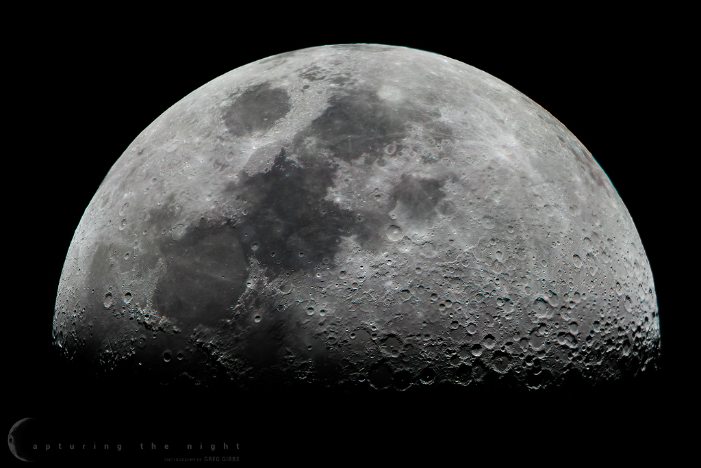 Lunar Mosaic by CapturingTheNight