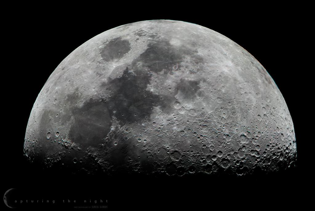 Lunar Mosaic by CapturingTheNight