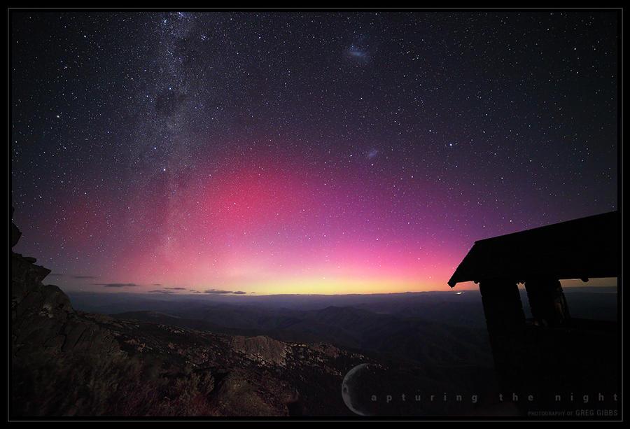 Aurora In The Alps by CapturingTheNight
