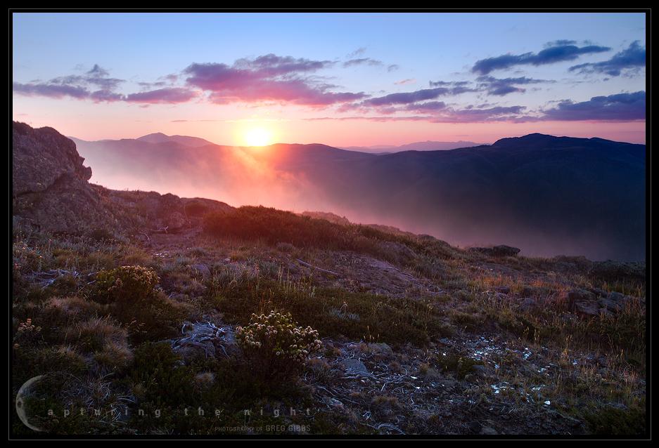 Alpine Sunset by CapturingTheNight