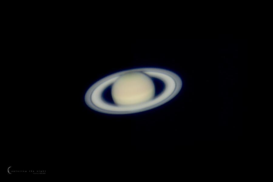 Saturn by CapturingTheNight