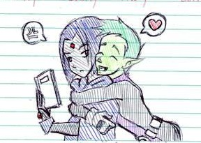 OTP Notebook Doodle 1 by SaintJoanofTheRoses
