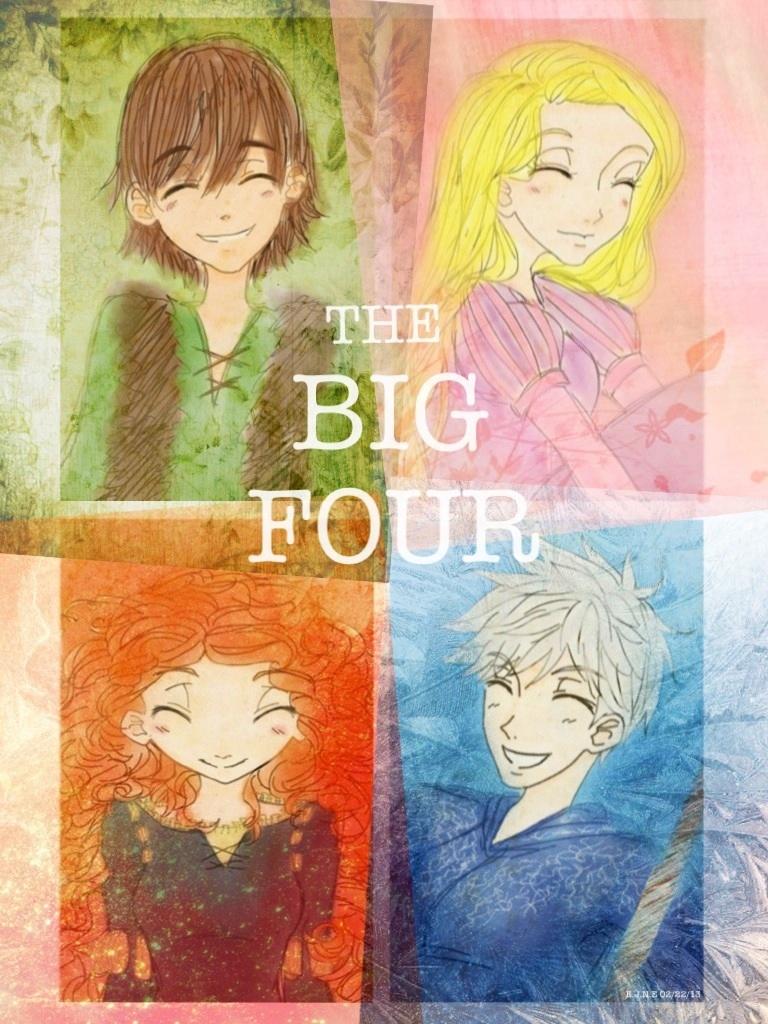 The Big Four by civil-twilight The Big Four Pixar