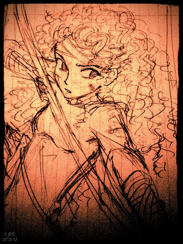 Merida by civil-twilight