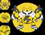 FanArt - Mega Electivire - Fakemon