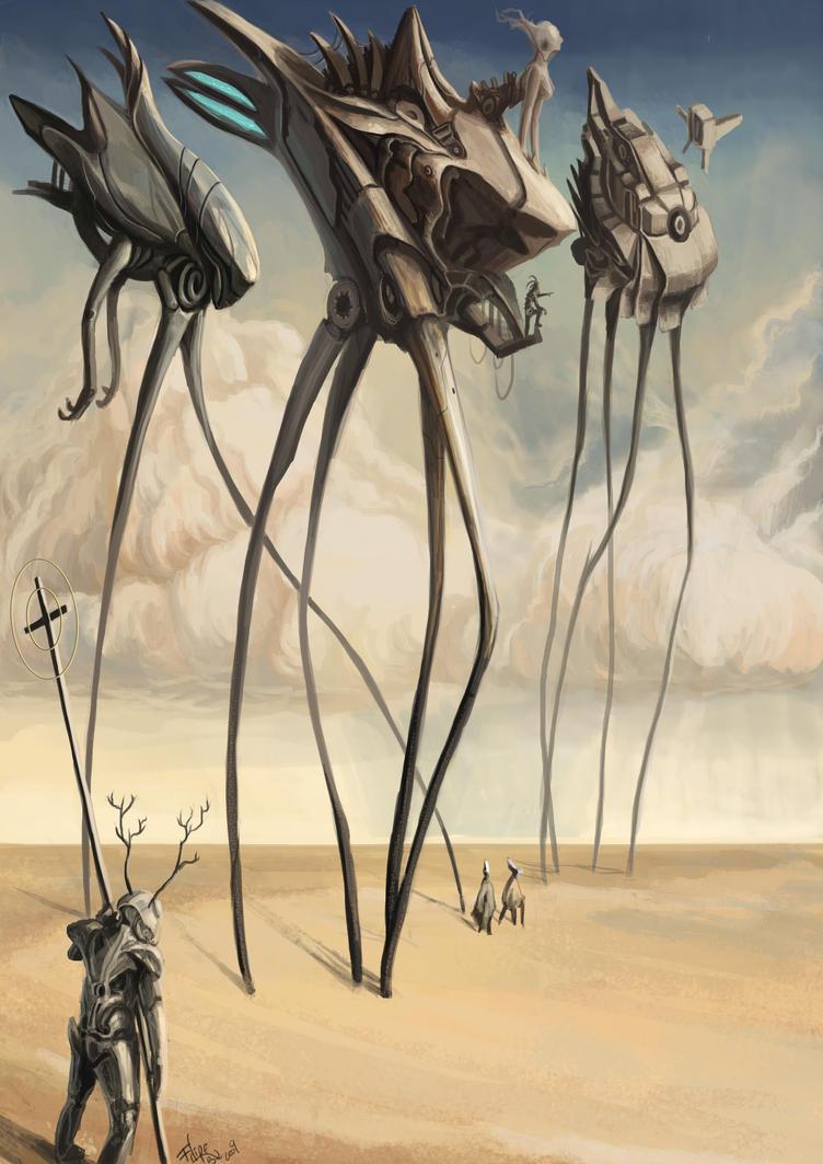 Dali-sci-fi by Xialousi
