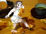 Paperchild KARATE girl