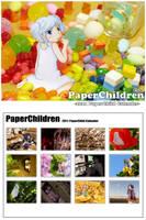 2011 Paper Child Calender by ryu-yo