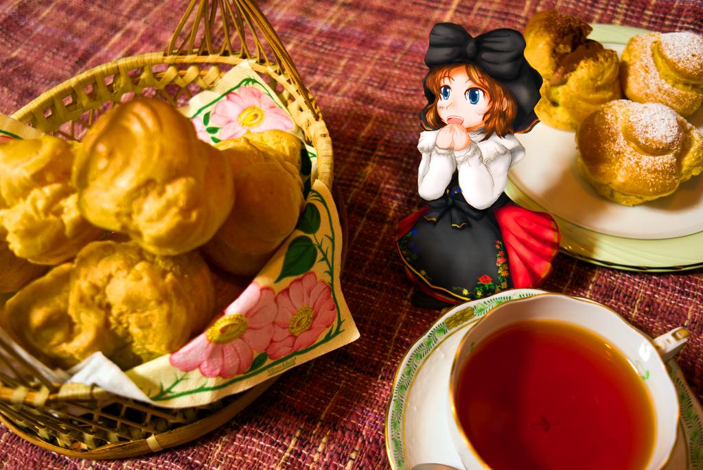 PaperChild French Tea Time by ryu-yo