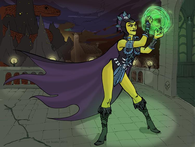 Evil Lyn by kirbostic