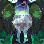 Twin Cats For A Green Witch by Yendis-T