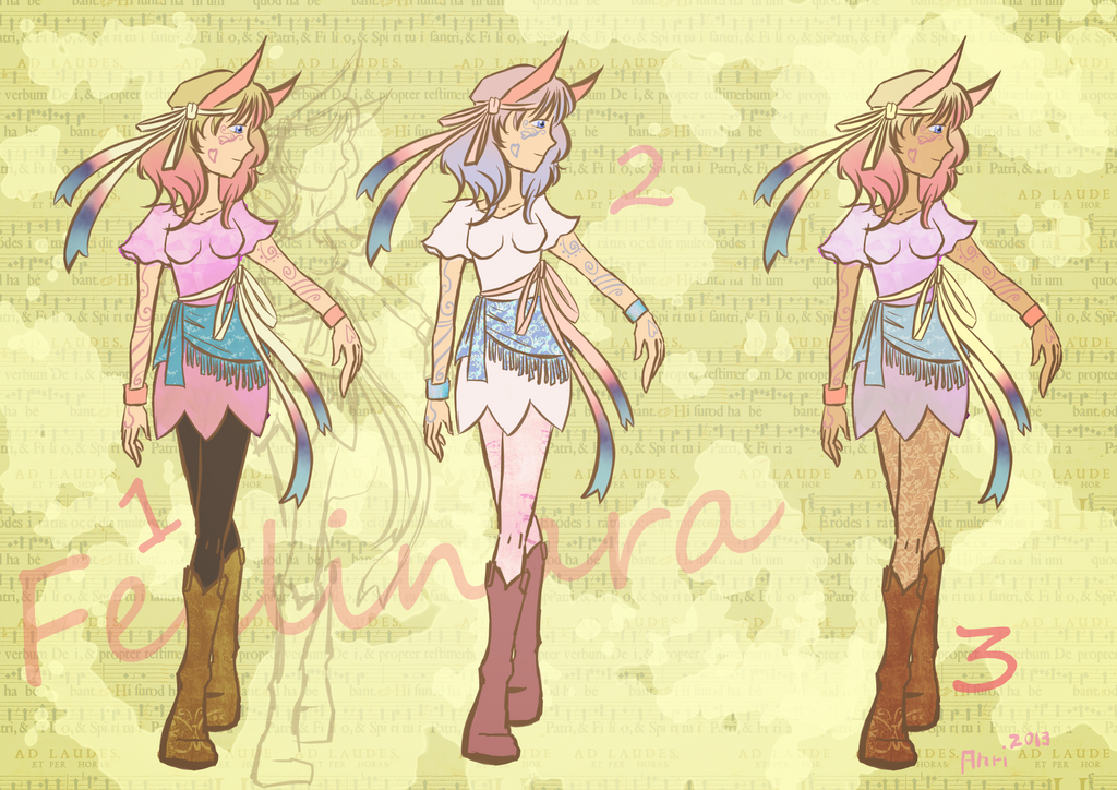 Gijinka Cosplay Project: Sylveon by anrili